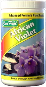 carl pool african violets fertilizer